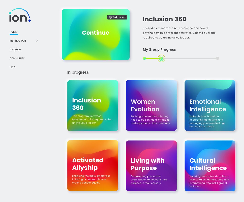 ion Platform Homepage